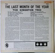 LP - Kingston Trio - The Last Month Of The Year
