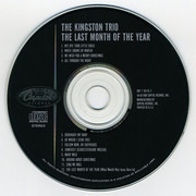 CD - Kingston Trio - The Last Month Of The Year