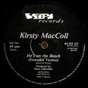 12inch Vinyl Single - Kirsty MacColl - He's On The Beach