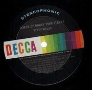 LP - Kitty Wells - Queen Of Honky Tonk Street