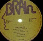LP - Klaus Schulze - Blackdance - GREEN BRAIN