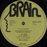 LP - Klaus Schulze - Irrlicht - GREEN BRAIN