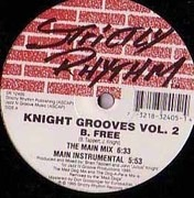 12inch Vinyl Single - Knight Grooves - Vol. 2 - B. Free