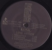 LP - Konk - Your Life / Love Attack