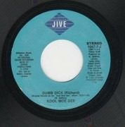7inch Vinyl Single - Kool Moe Dee - Dumb Dick (Richard)