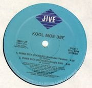12inch Vinyl Single - Kool Moe Dee - Dumb Dick (Richard)