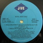 12inch Vinyl Single - Kool Moe Dee - Wild, Wild West