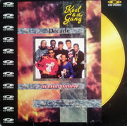 Laserdisc - Kool & The Gang - Decade - The Singles Collection - CD-VIDEO