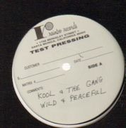 LP - Kool & The Gang - Wild And Peaceful - test pressing