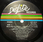LP - Kool & The Gang - Wild And Peaceful