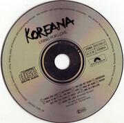 CD - Koreana - Living For Love