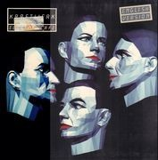 LP - Kraftwerk - Electric Cafe - English Version, real sticker