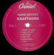 LP - Kraftwerk - Radio-Activity - Capitol US