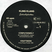12inch Vinyl Single - Kraftwerk - Computerwelt