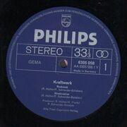 LP - Kraftwerk - Kraftwerk 1 - Original 1st German