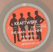 LP - Kraftwerk - The Man Machine - Red | Incl Insert