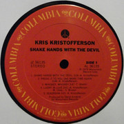 LP - Kris Kristofferson - Shake Hands With The Devil