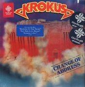 LP - Krokus - Change Of Address - STILL SEALED!