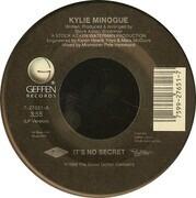 7inch Vinyl Single - Kylie Minogue - It's No Secret