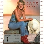 7inch Vinyl Single - Kylie Minogue - Hand On Your Heart