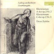LP - L.v. Beethoven / Dieter Zechlin - Klaviersonate A-dur,Klaviersonate C-dur; D. Zechlin