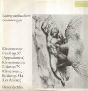 LP - L.v. Beethoven - Klaviersonate f-moll, Klaviersonatine G-dur, Klaviersonate Es-dur; Zechlin