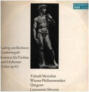 LP - L.v. Beethoven - Konzert für Violine und Orchester D-dur; Mehunin, Wiener Philh., C. Silvestri
