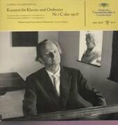 LP - L.v. Beethoven - Konzerte für Klavier und Orchester Nr.1; W. Kempff, P.v. Kempen