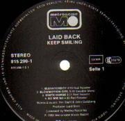 LP - Laid Back - ...Keep Smiling