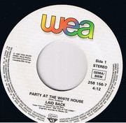 7inch Vinyl Single - Laid Back - Party At The White House