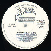 12'' - Lakeside - Outrageous - Promo