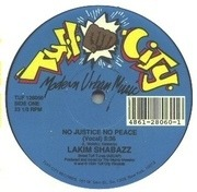 12'' - Lakim Shabazz - No Justice No Peace