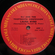 LP - Laura Nyro - Eli And The Thirteenth Confession