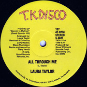 12'' - Laura Taylor - All Through Me