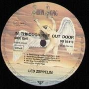 LP - Led Zeppelin - In Through The Out Door - brown paperbag cover!