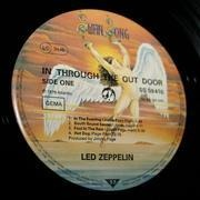 LP - Led Zeppelin - In Through The Out Door - 'C' SLEEVE