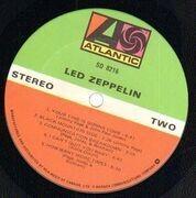LP - Led Zeppelin - Led Zeppelin I - CANADIAN PRESS