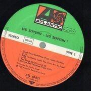LP - Led Zeppelin - Led Zeppelin I - NO BARCODE