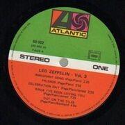 LP - Led Zeppelin - Led Zeppelin III - Gatefold