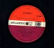 LP - Led Zeppelins - Led Zeppelin III - uk disc, us sleeve