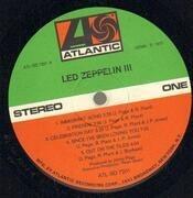LP - Led Zeppelin - Led Zeppelin III - Gimmick sleeve