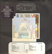 Double LP - Led Zeppelin - The Soundtrack From The Film The Song Remains The Same - us promo copy