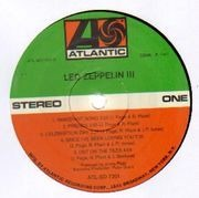LP - Led Zeppelin - Led Zeppelin III - Gimmick Cover