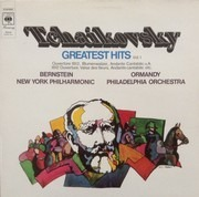 LP - Leonard Bernstein / The New York Philh. Orch., Ormandy - The Philadelphia Orch. - Tchaikovsky's Greatest's Hits (Vol. 1)