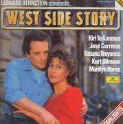 LP - Leonard Bernstein , Kiri Te Kanawa , José Carreras , Tatiana Troyanos , Kurt Ollmann , Marilyn Horne - West Side Story (Highlights)
