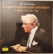Double LP - Leonard Bernstein , Los Angeles Philharmonic Orchestra , BBC Symphony Orchestra - Zum 70. Geburtstag - Leonard Berstein Spielt Und Dirigiert