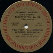 LP - Richard Strauss / Leonard Bernstein, The New York Philh. Orch. - Also Sprach Zarathustra