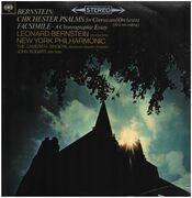 LP - Leonard Bernstein , The New York Philharmonic Orchestra , John Bogart , Camerata Singers , Abraham - Chichester Psalms / Facsimile