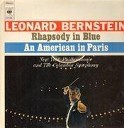 LP - Leonard Bernstein - Rhapsodie in Blue, An American in Paris (Gershwin)