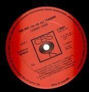 LP - Leonard Cohen - New Skin For The Old Ceremony - UK original